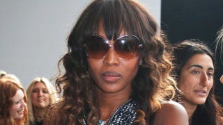 Illustration for article titled Naomi Campbell Announced That She Is Not Speaking
