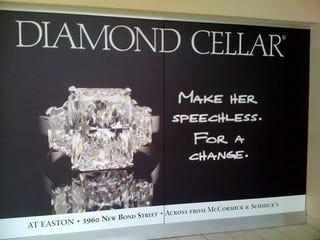 Illustration for article titled Diamonds Won't Shut Her Up Forever