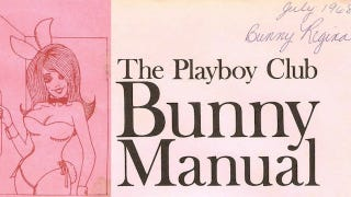 Illustration for article titled Lessons From The 1968 Playboy Bunny Manual