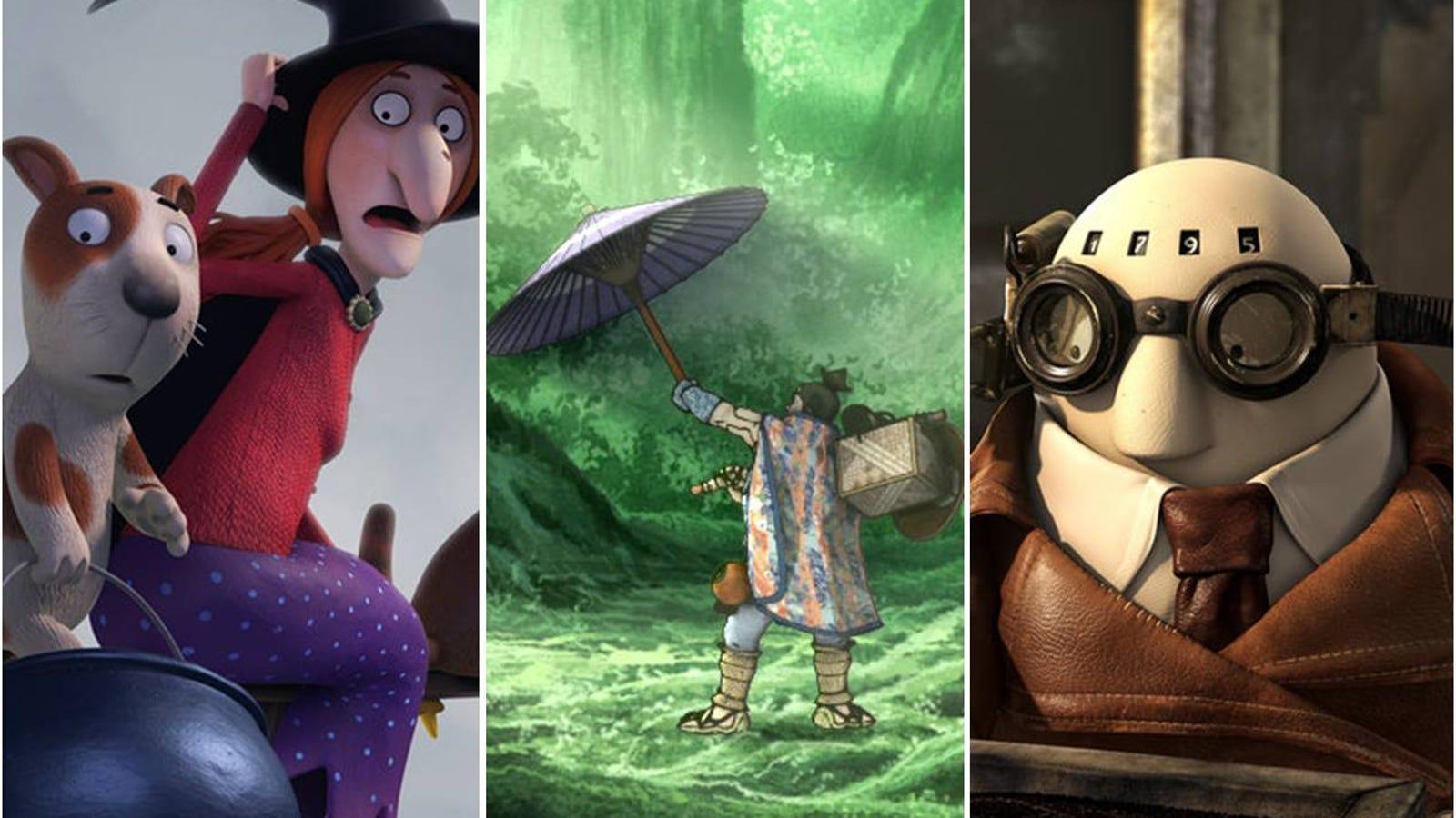 Descubre los 5 cortos de animación nominados a los Oscar