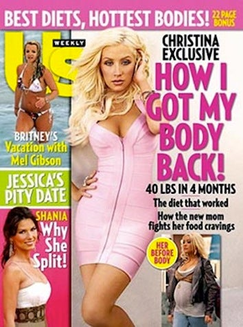 Illustration for article titled Moms Feeled Pressured By Celebs To Drop Baby Weight ASAP