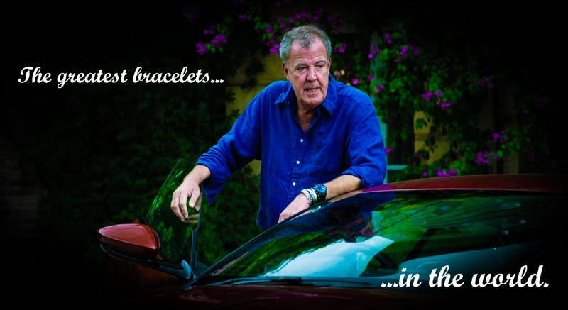 Illustration for article titled This Might Be The Explanation For Jeremy Clarkson's Weird Jangly Bracelets