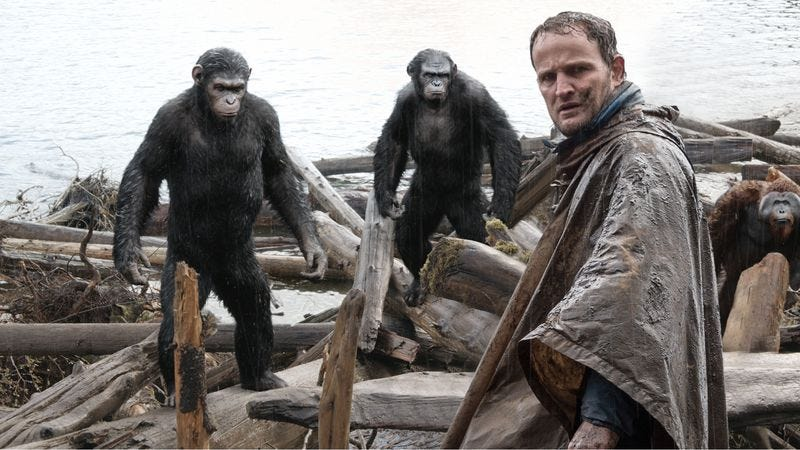 Illustration for article titled Dawn Of The Planet Of The Apes takes another step toward a foregone conclusion