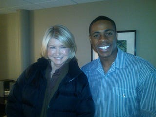 Illustration for article titled Because If You Send Us A Photo Of An Athlete With Martha Stewart, We're Gonna Post It