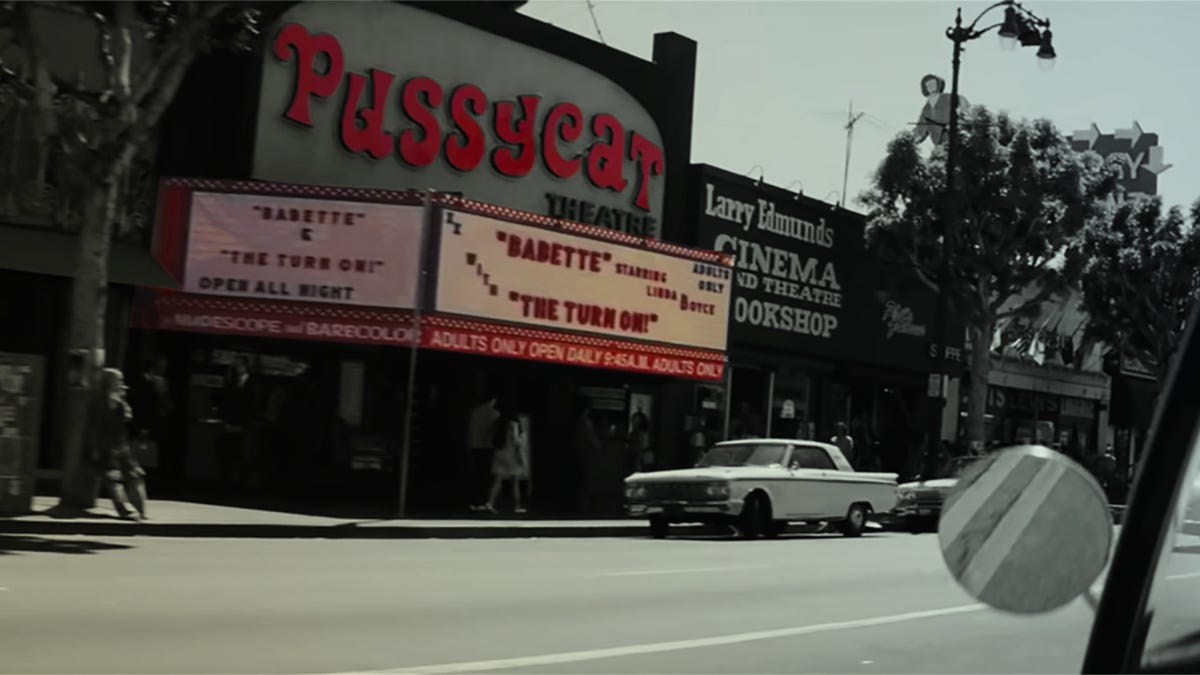 Once Upon A Time    In Hollywood    annotated