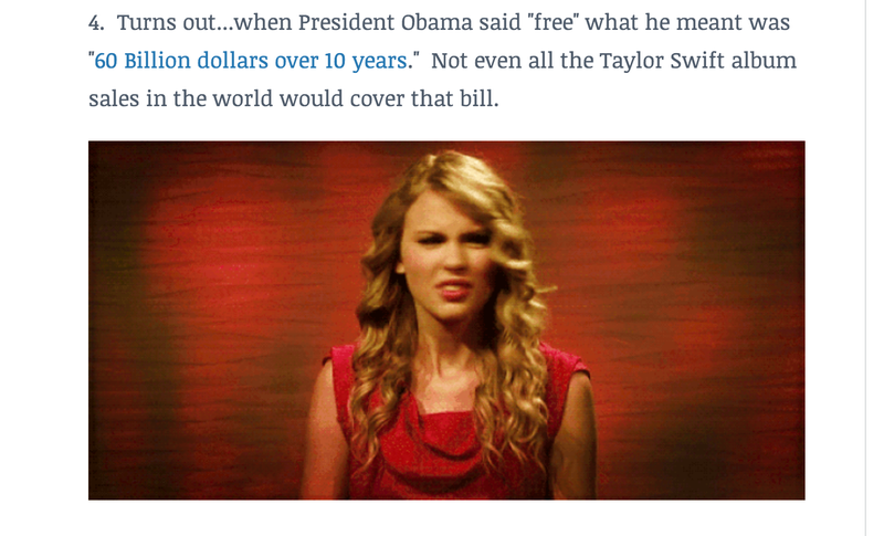 Illustration for article titled John Boehner Issues Obama 'Takedown' Via Taylor Swift Gif Listicle