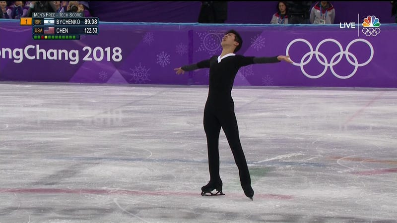 Illustration for article titled Nathan Chen Throws Down Massive Six Quads, Is Still Probably Doomed