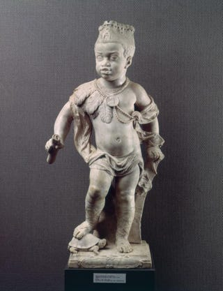 Jan Claudius de Cock, Africa. Signed and dated, 1704. Marble, 94.7 cm.Rijksmuseum, Amsterdam