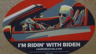 This bumper sticker is fantastic, regardless of political affiliation.