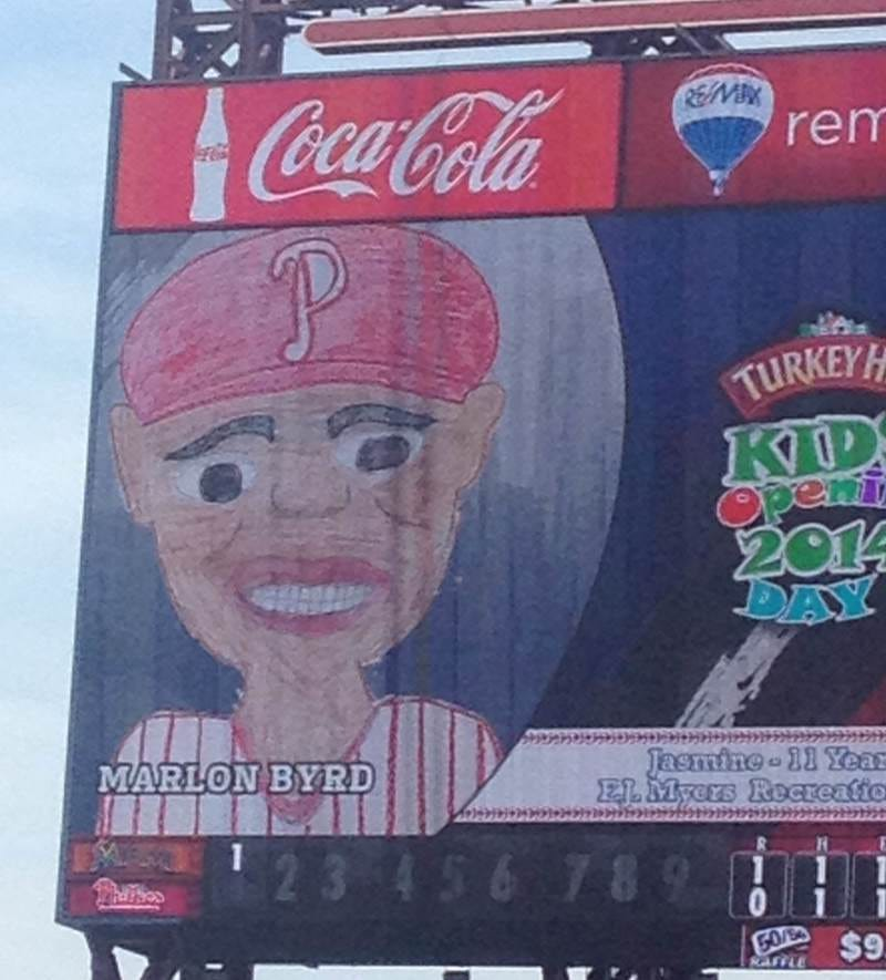 Illustration for article titled Children's Drawings Of The Phillies' Lineup Are Adorably Goofy