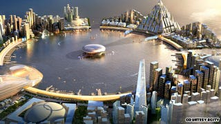Illustration for article titled This spectacular proposed South Korean super-city will cost $275 billion