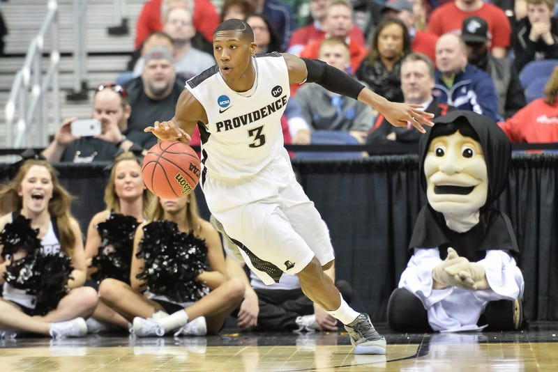 Kris Dunn of the Providence Friars controls the ball during a game March 20, 2015, in Columbus, Ohio. Jamie Sabau/Getty Images