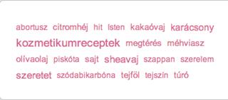 Illustration for article titled Találd ki, melyik weboldalon található a legviccesebb magyar tagfelhő!