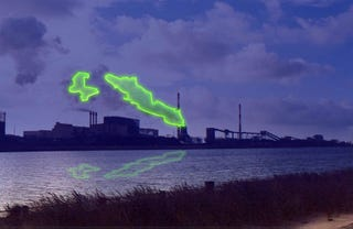 Illustration for article titled The Giant Laser Clouds of Helsinki