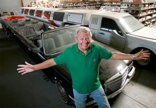 Illustration for article titled Ron Paul's Old Limo is Being Converted to Longest-Ever Ride