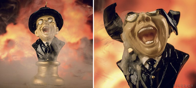 Illustration for article titled Recreate Raiders' Goriest Scene With a Melting Nazi Candle