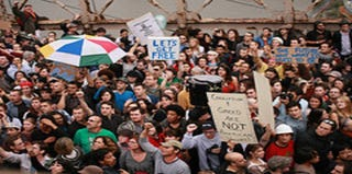 """""""Occupy"""" protesters march to Washington, D.C. (Google)"""
