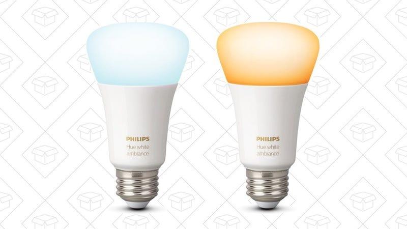 Philips Hue White Ambiance Bulb | $25 | Amazon