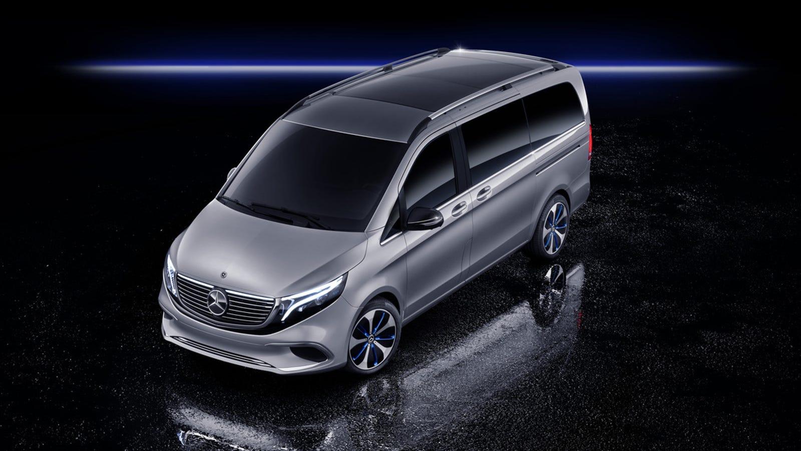 The Mercedes EQV Is an Elegantly Practical Electric Van ...