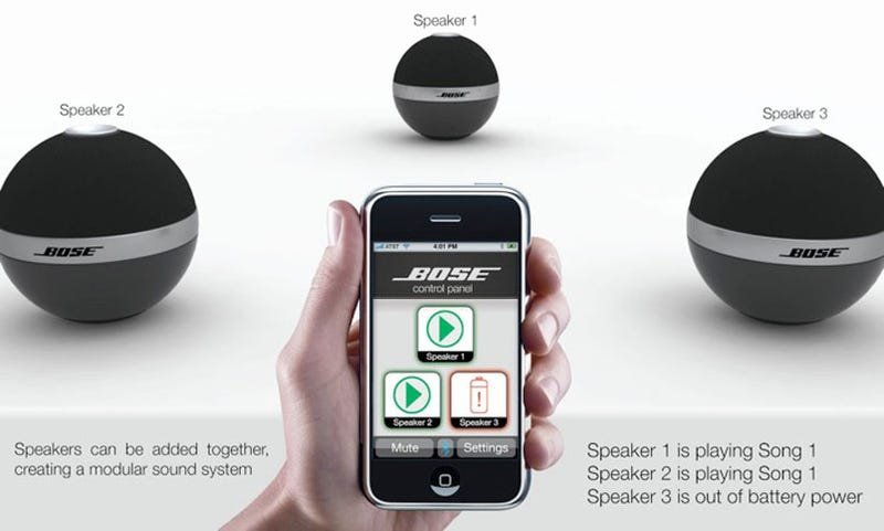 Why did bose never manufacture these bluetooth speakers sciox Gallery