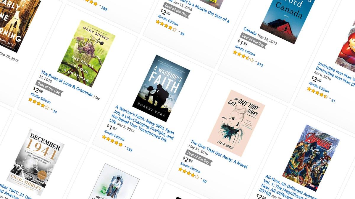 Sunday's Best Deals: Kindle Ebooks, Backyard Sports, Egg
