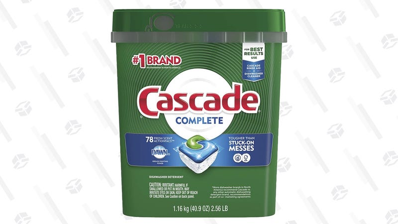 Cascade Complete ActionPacs | $10 | Amazon | Clip the $2.60 coupon and use Subscribe & Save