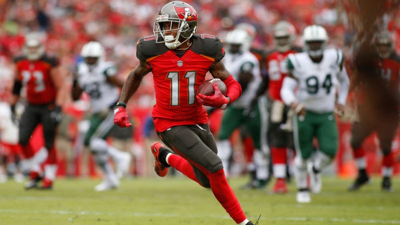 Vehicle registered to Buccaneers wide receiver involved in accident; marijuana, bullets inside