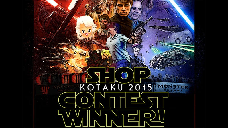 Illustration for article titled Kotaku'Shop Contest: The 2015 Year-End All-Star Extravaganza: Winners!