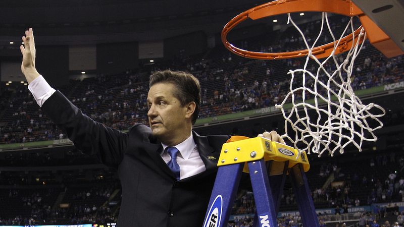 Illustration for article titled John Calipari Used To Make A Nets Intern Defend Him By Calling Into New York Talk Radio