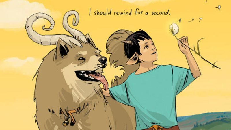 Illustration for article titled Saga #7 and the year of Image Comics