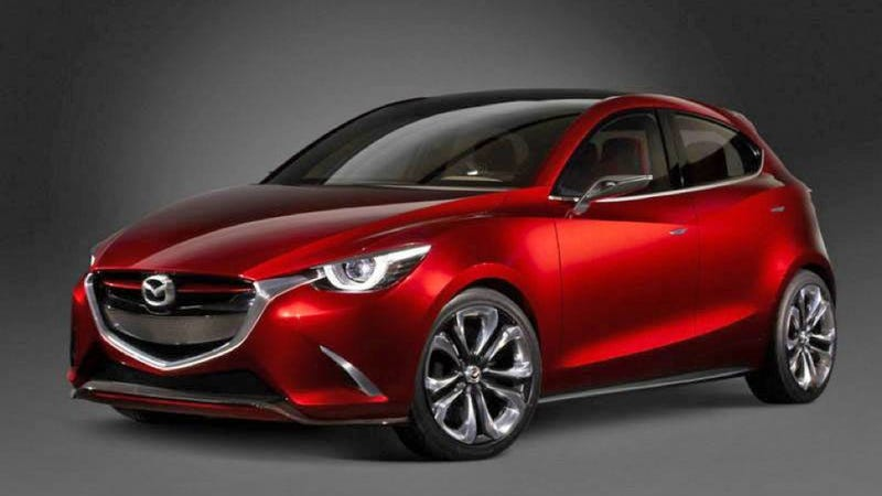 Illustration for article titled The Mazda Hazumi Concept Is The Next Mazda2 And It's Gorgeous