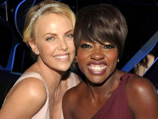 Charlize Theron and Viola Davis (John Shearer/Getty Images)