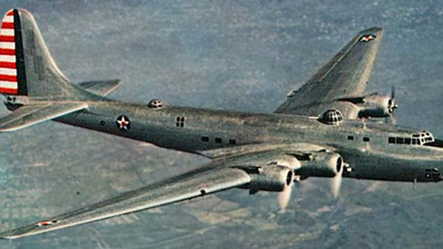 American Bombers Ww2 >> America's Real WWII Flying Fortress Was The Massive Douglas XB-19