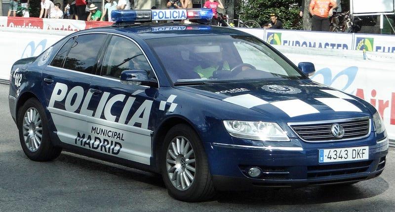 Illustration for article titled Phaeton police car