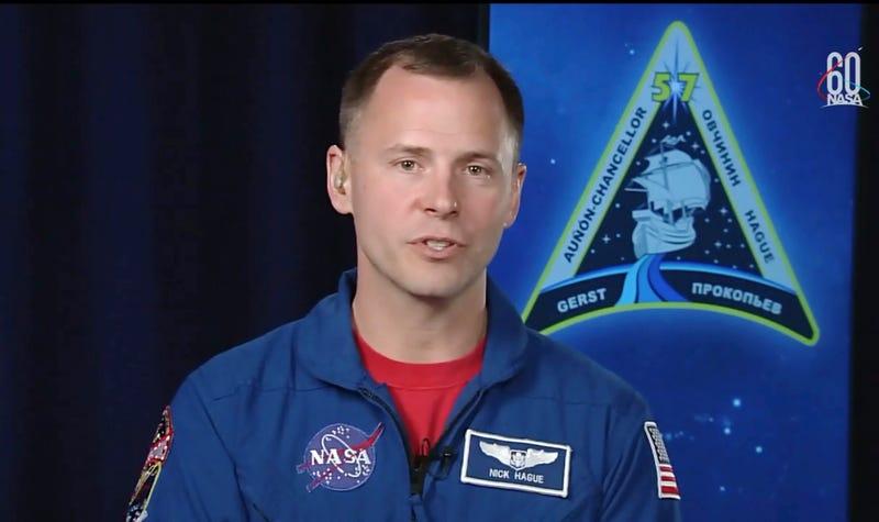 NASA astronaut Nick Hague.