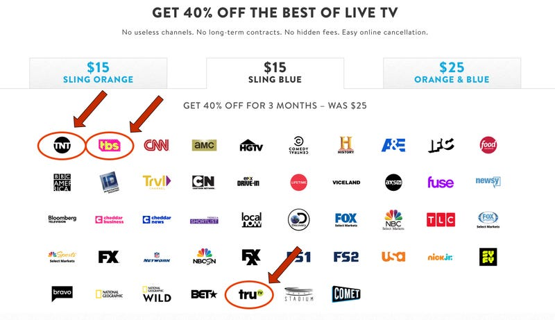 40% Off Your First Three Months| Sling TV