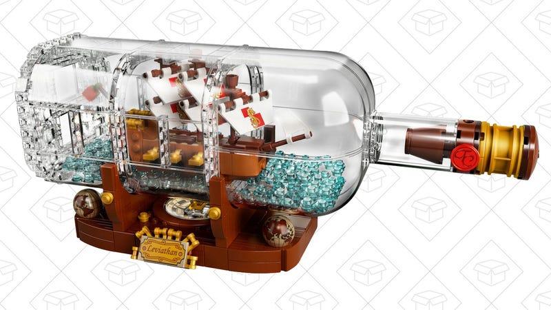 LEGO Ship in a Bottle | $70 | LEGO