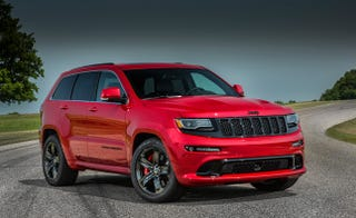 "Illustration for article titled New ""Trackhawk"" Jeeps, And Jeep Grand Cherokee Going Hellcat?!"