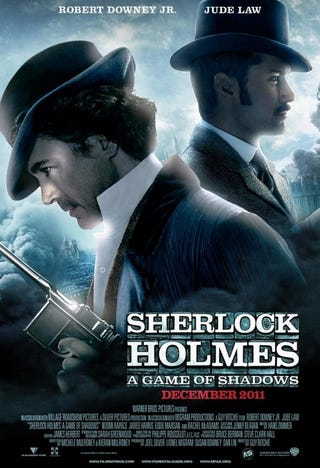 Illustration for article titled Sherlock Holes: A Game of Shadows Poster