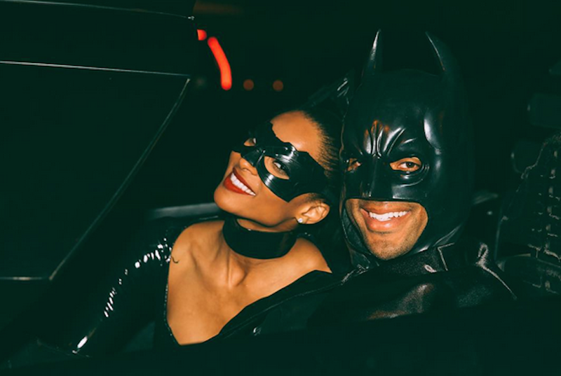 Illustration for article titled Russell Wilson And Ciara Channel Supposed Sexual Frustration Into Costume Party