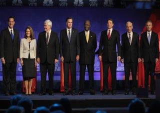 GOP presidential debate (Getty Images)