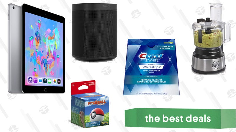 Illustration for article titled Monday's Best Deals: iPad, YETI Cooler, Sonos Speaker, and More