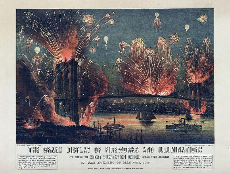 Illustration for article titled The First Fireworks Displays Were Terrifyingly Huge