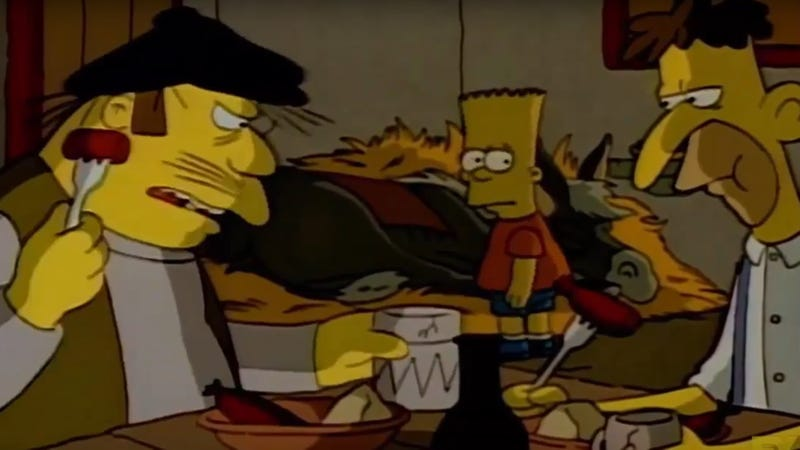Illustration for article titled Take a tour of Franco-Canadian relations with this look at region-specific Simpsons dubs