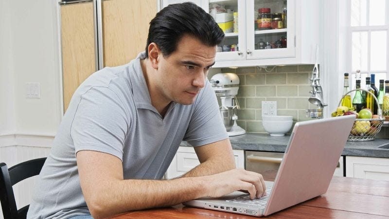 Illustration for article titled Area Man Patiently Waiting For Humiliating Email To Cycle Off First Page