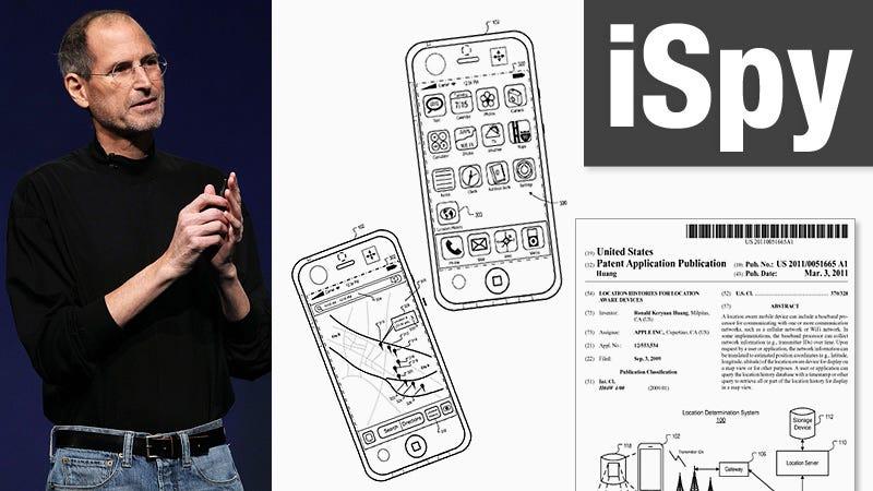 Illustration for article titled Apple Patent Reveals Extensive Stalking Plans