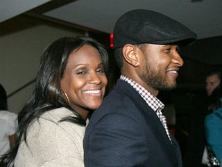 Usher and Tameka Raymond in 2007 (Johnny Nunez/Wire/Getty Images)