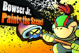 Illustration for article titled Smash Bros. 4 Character Prediction Art 3!  Bowser Jr.!