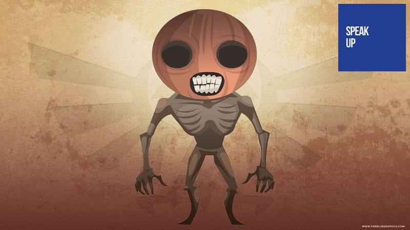 Illustration for article titled In Your Most Terrifying Video Game Nightmares