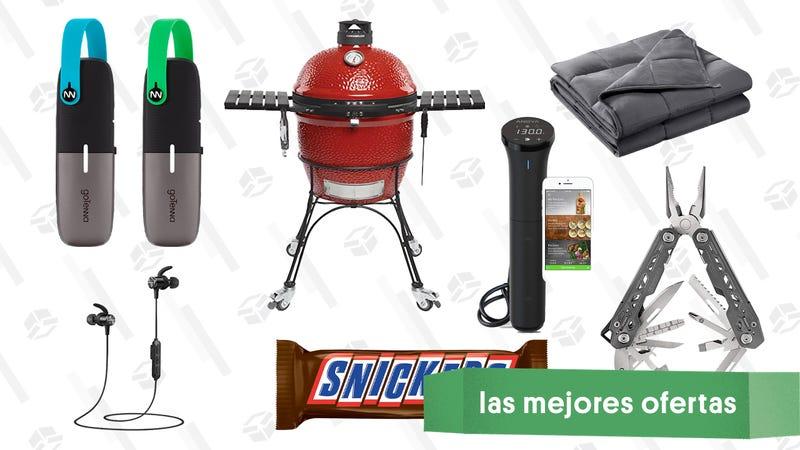 Illustration for article titled Las mejores ofertas de este jueves: Accesorios para el exterior, mantas antiestrés, Snickers gigantes y más